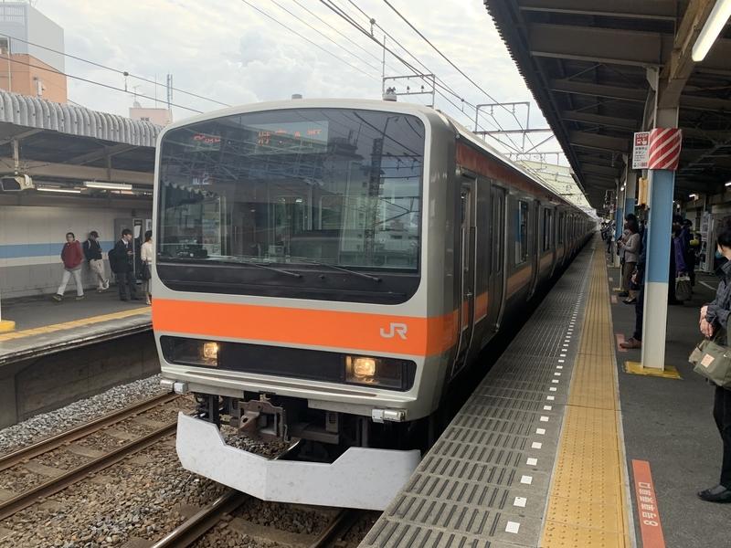 武蔵野線 E231系 新松戸