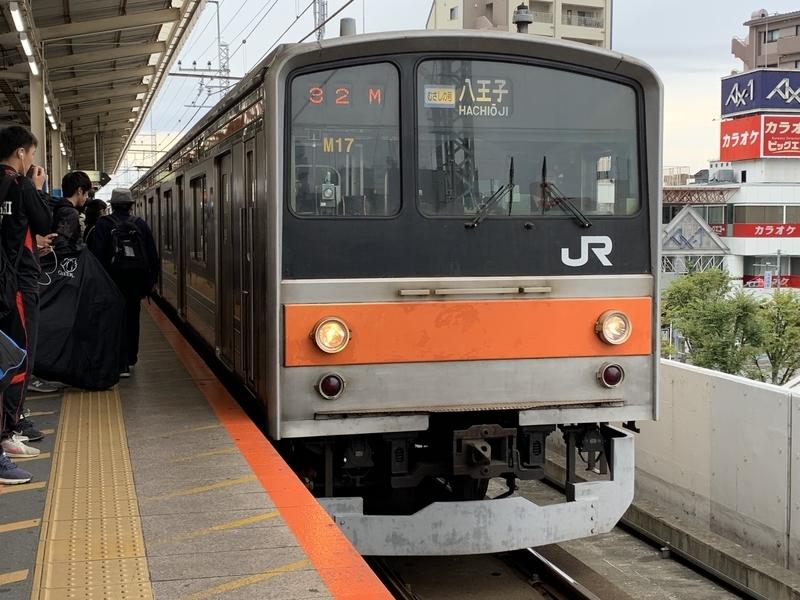 武蔵野線 むさしの号 205系 北朝霞