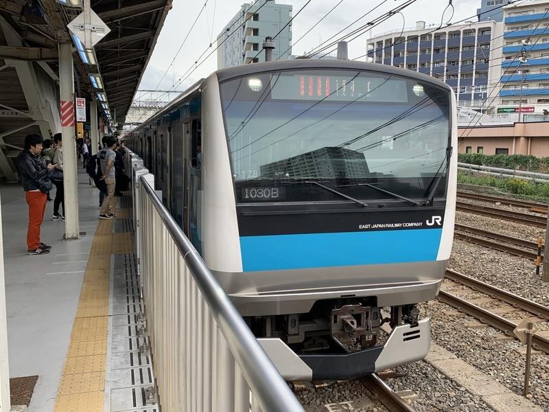 京浜東北線 東神奈川