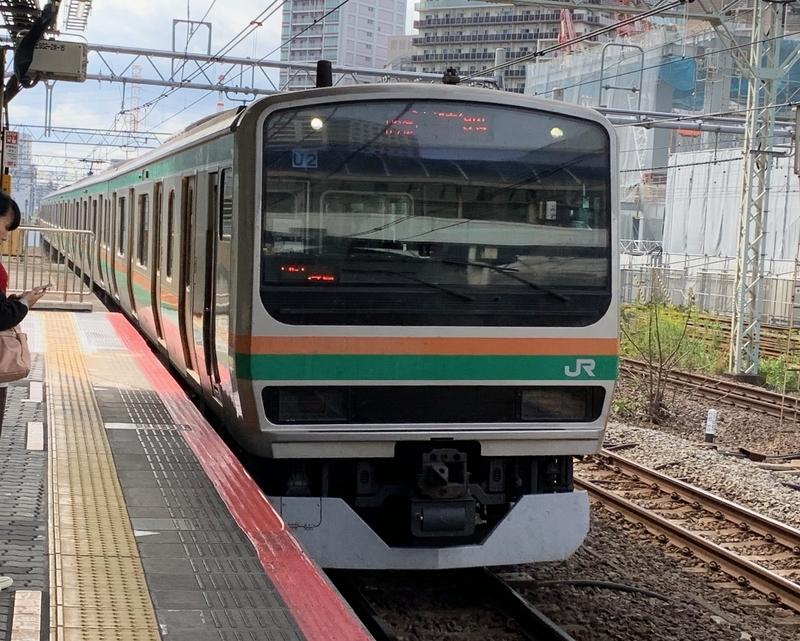 上野東京ライン 川崎駅 E231系