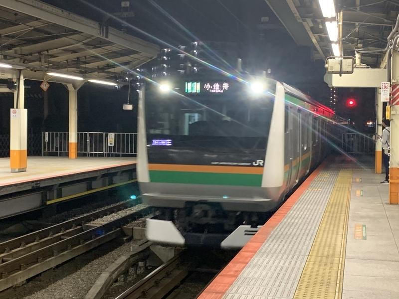 横浜駅 上野東京ライン 東海道本線 E233系