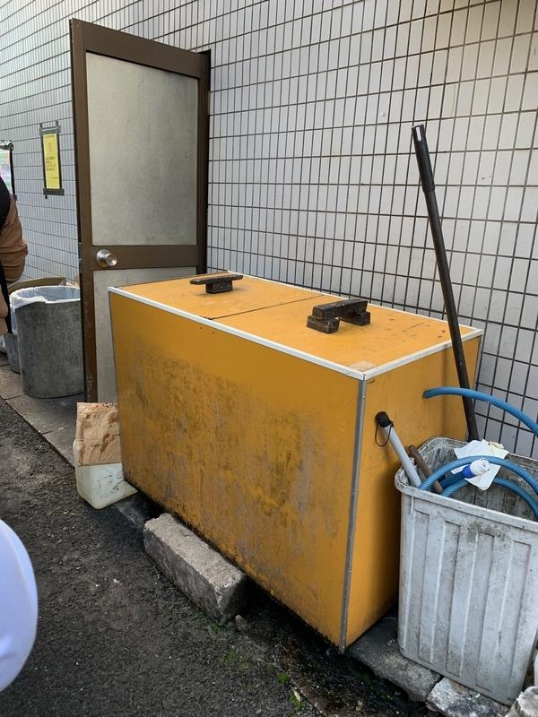 ラーメン二郎 三田本店 もやし 冷蔵庫