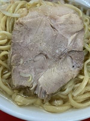 ラーメン二郎 神田神保町店 チャーシュー