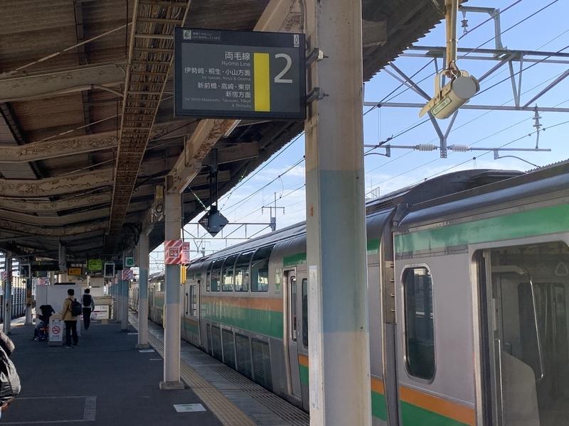 前橋駅 ホーム