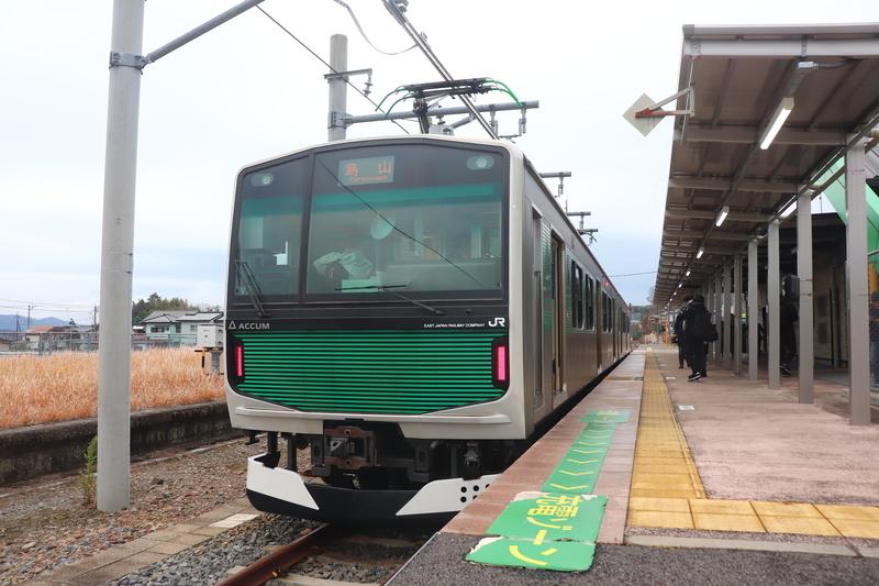 烏山線 烏山駅