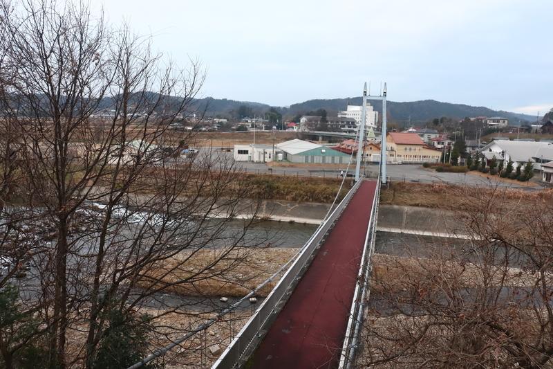 烏山 大金の吊り橋