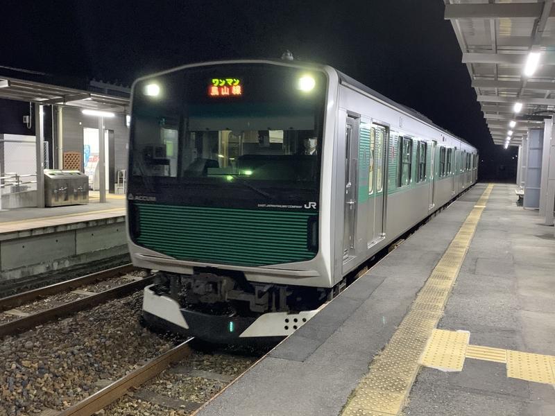 烏山 大金駅