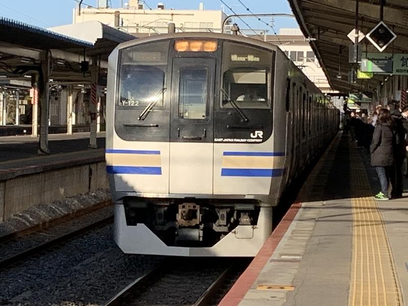 成田線 成田駅
