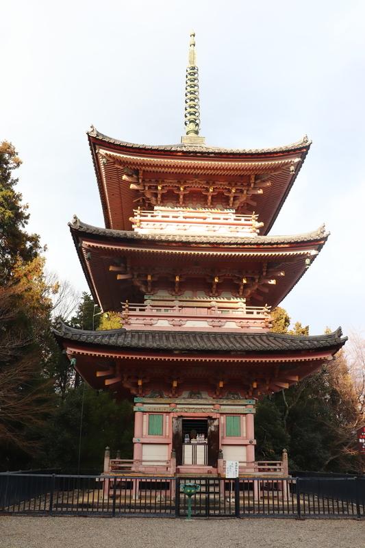 朝倉山 真禅院三重塔
