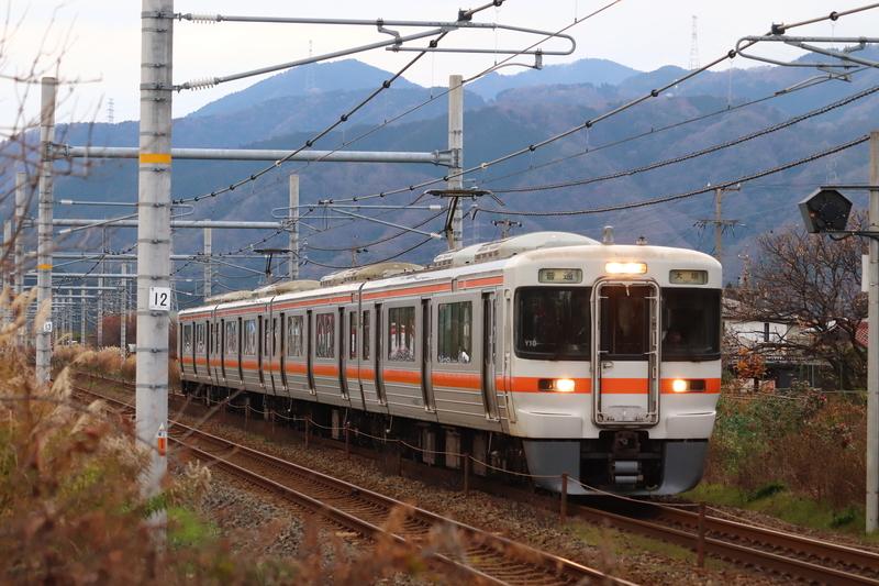 東海道本線 垂井 踏切