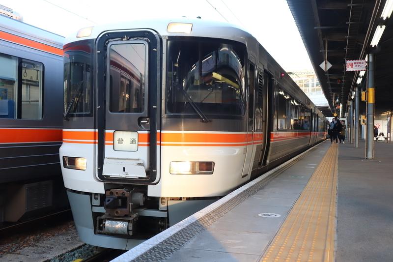 東海道本線 373系 普通列車