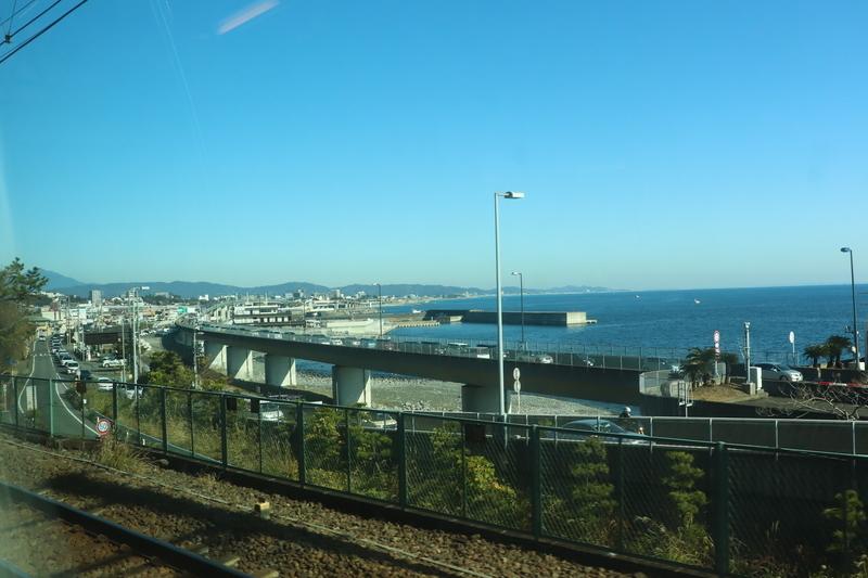 東海道本線 海 熱海
