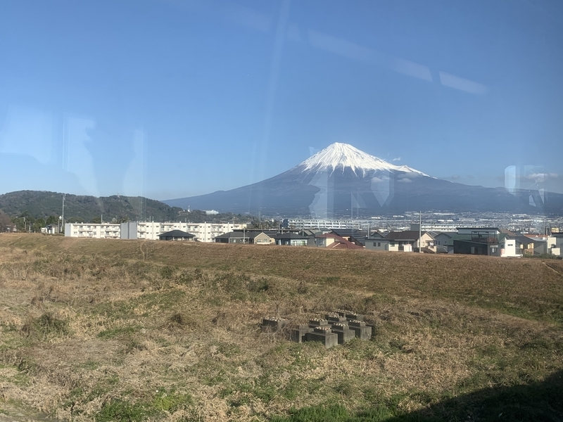 東海道本線 富士山