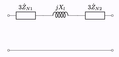 Y-Y結線 零相成分 等価回路