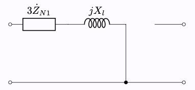 Y-Δ結線 零相成分 等価回路