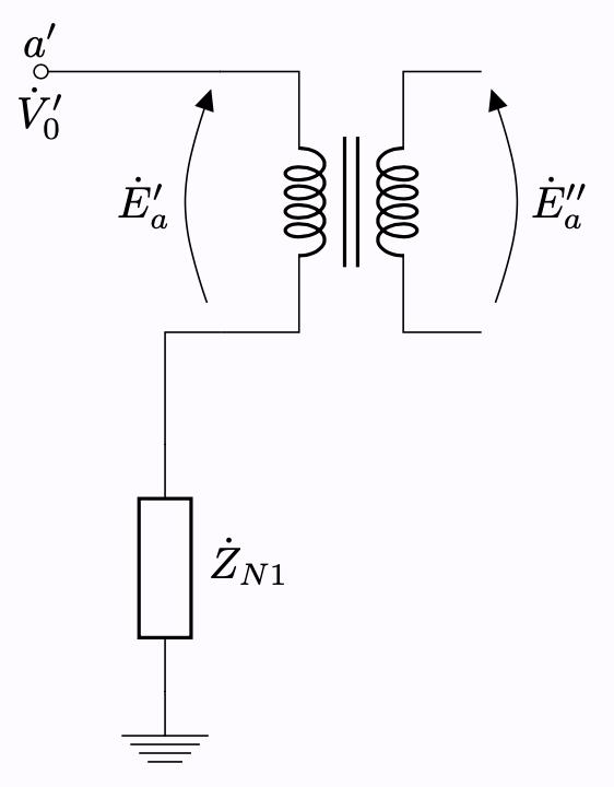 Y-Δ結線 零相成分