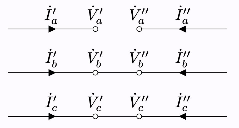 一相断線故障 対称座標法