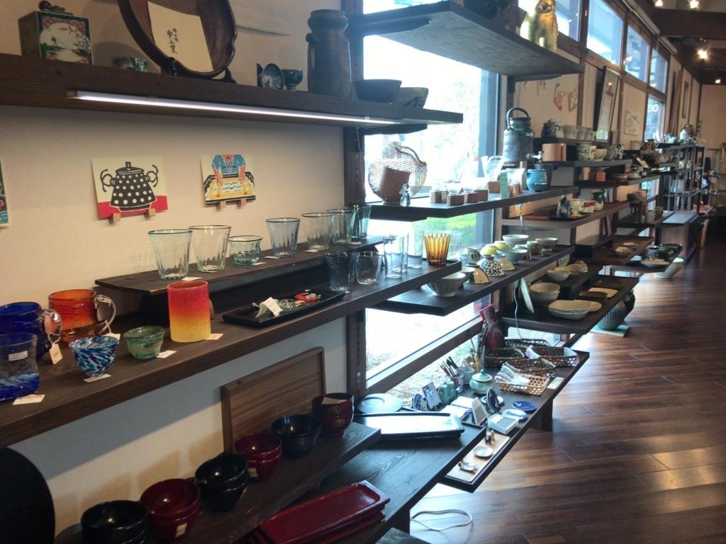 大和屋の雑貨コーナーの写真