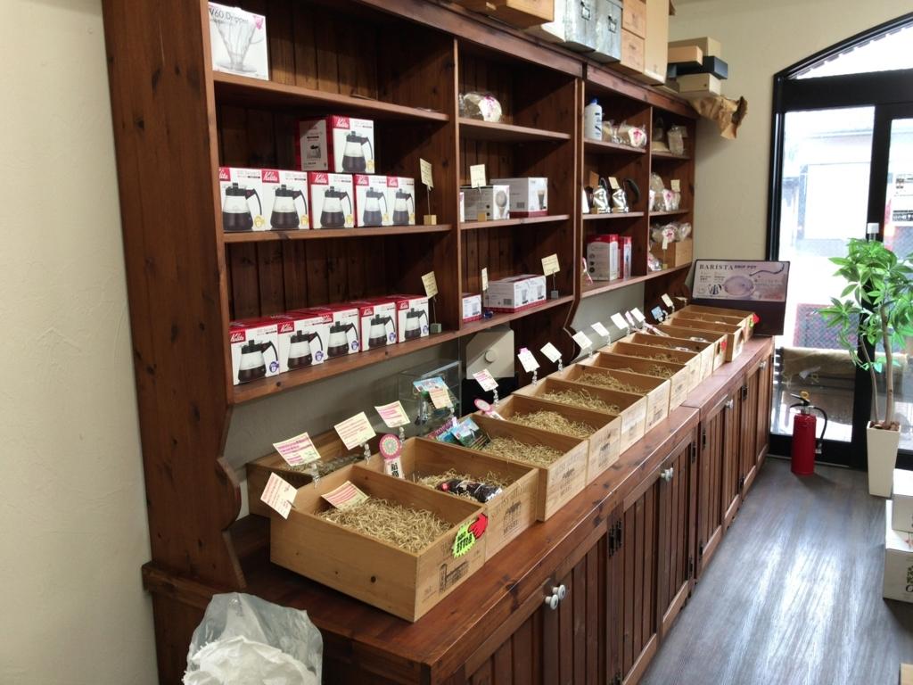 豆の樹店内の写真
