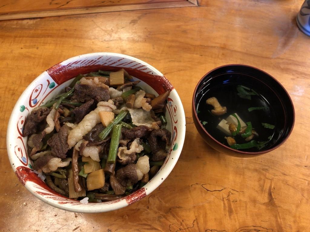 レストラン手取川で食べたくまどん