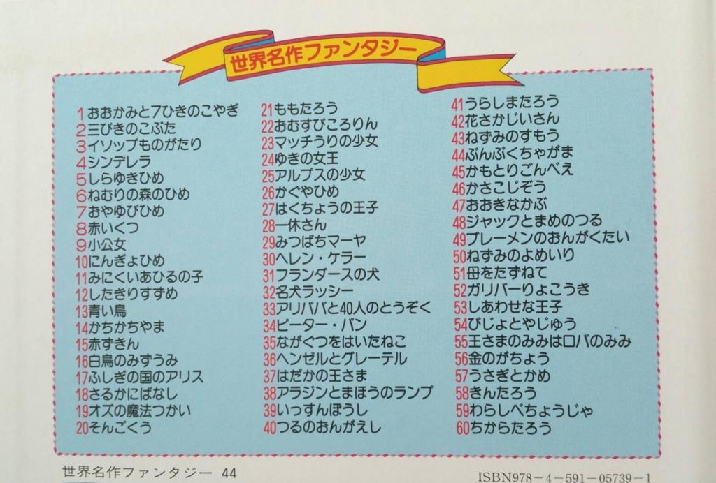 300円 ポイント消化 楽天 Yahoo! 世界名作ファンタジー 何歳 対象年齢