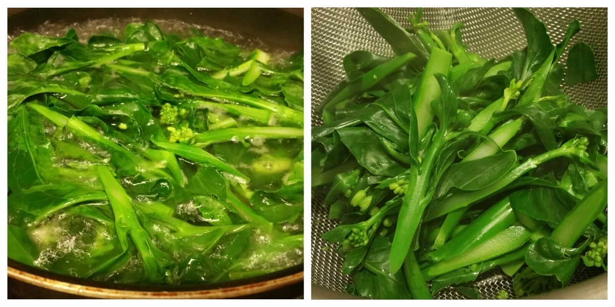 香港 節約 生活 和食 自炊 芥蘭 料理