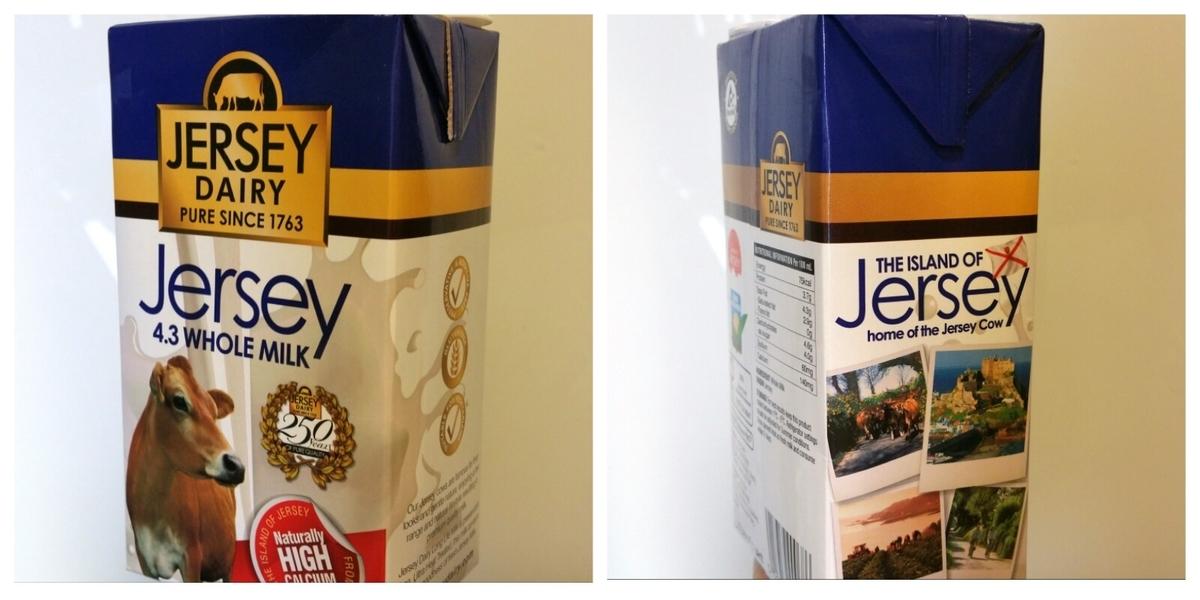 ジャージーミルク アイスランド 牛乳 ミルク