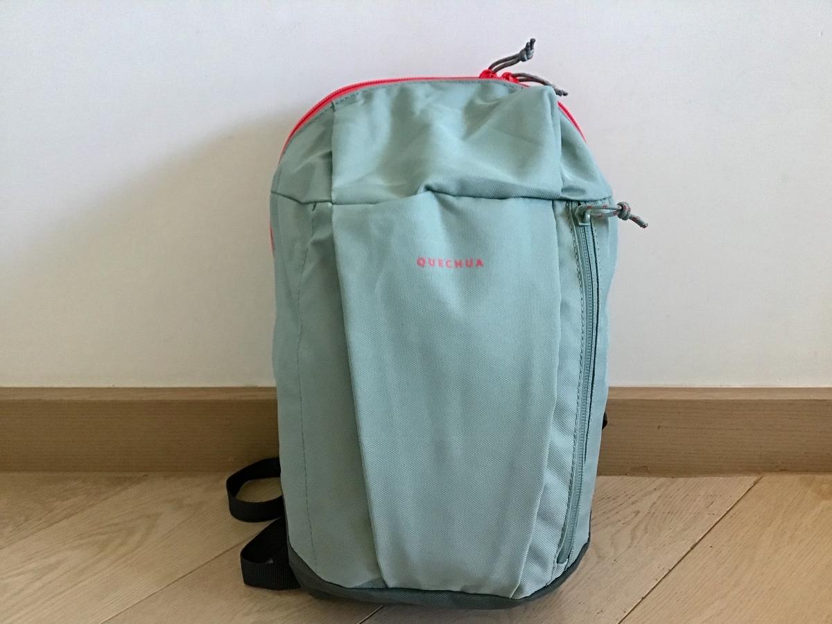 デカトロン Decathlon 香港 390円リュック バッグパック ママリュック