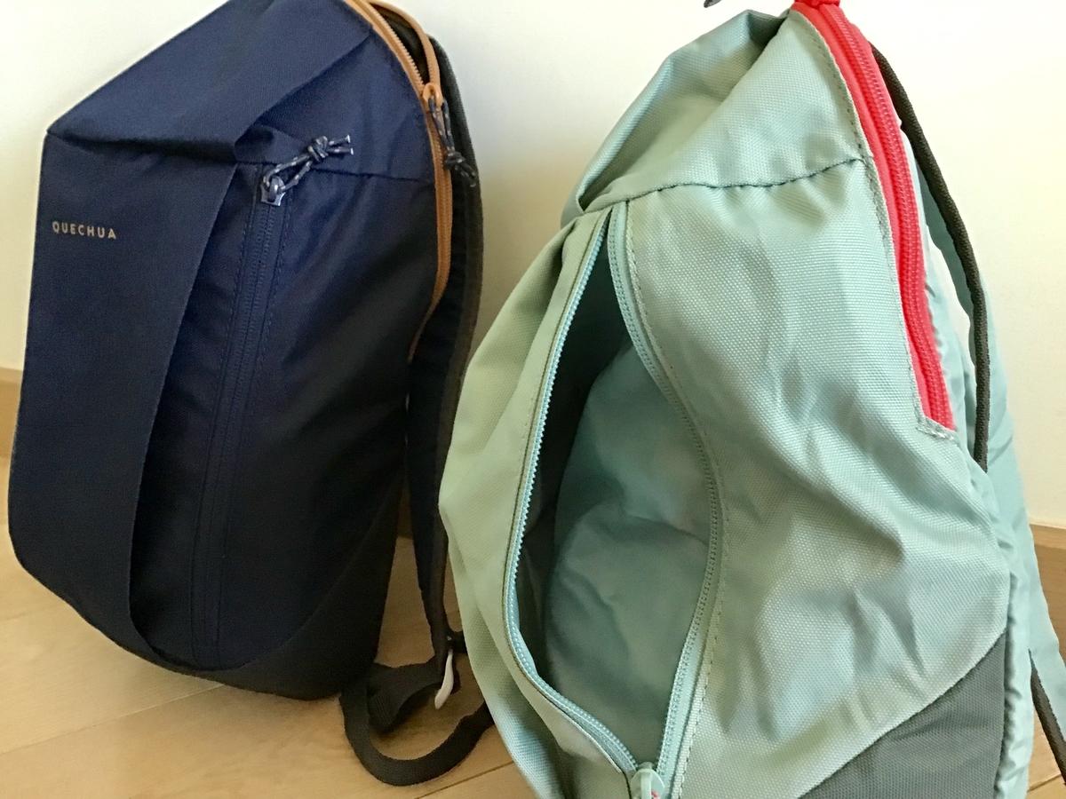 デカトロン Decathlon 香港 390円リュック バッグパック