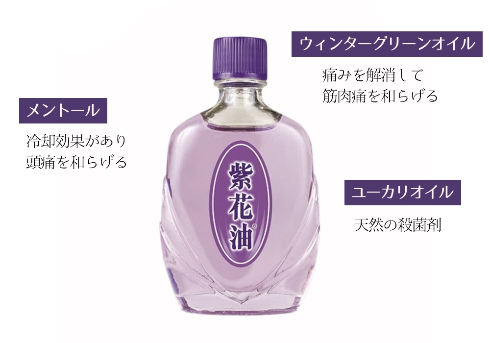 紫花油 効能 使い方 白花油
