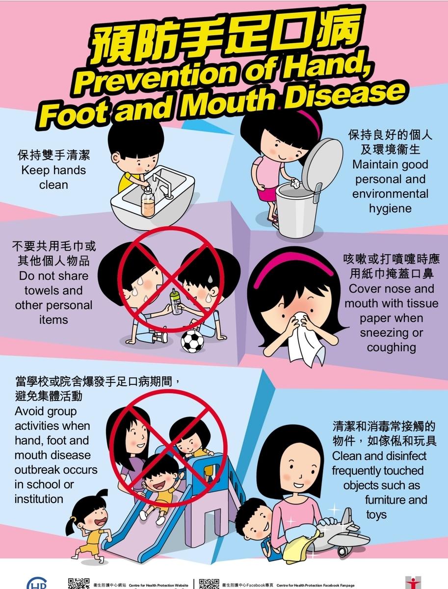 手足口病 予防