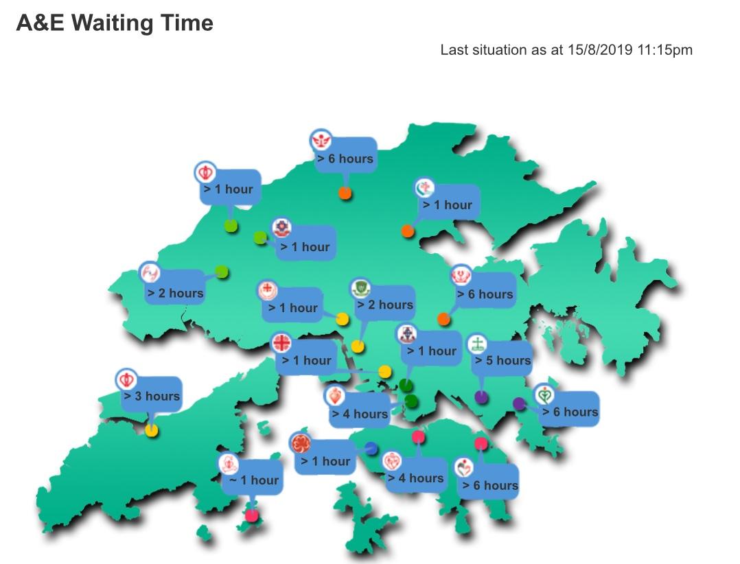 香港 公立病院 待ち時間