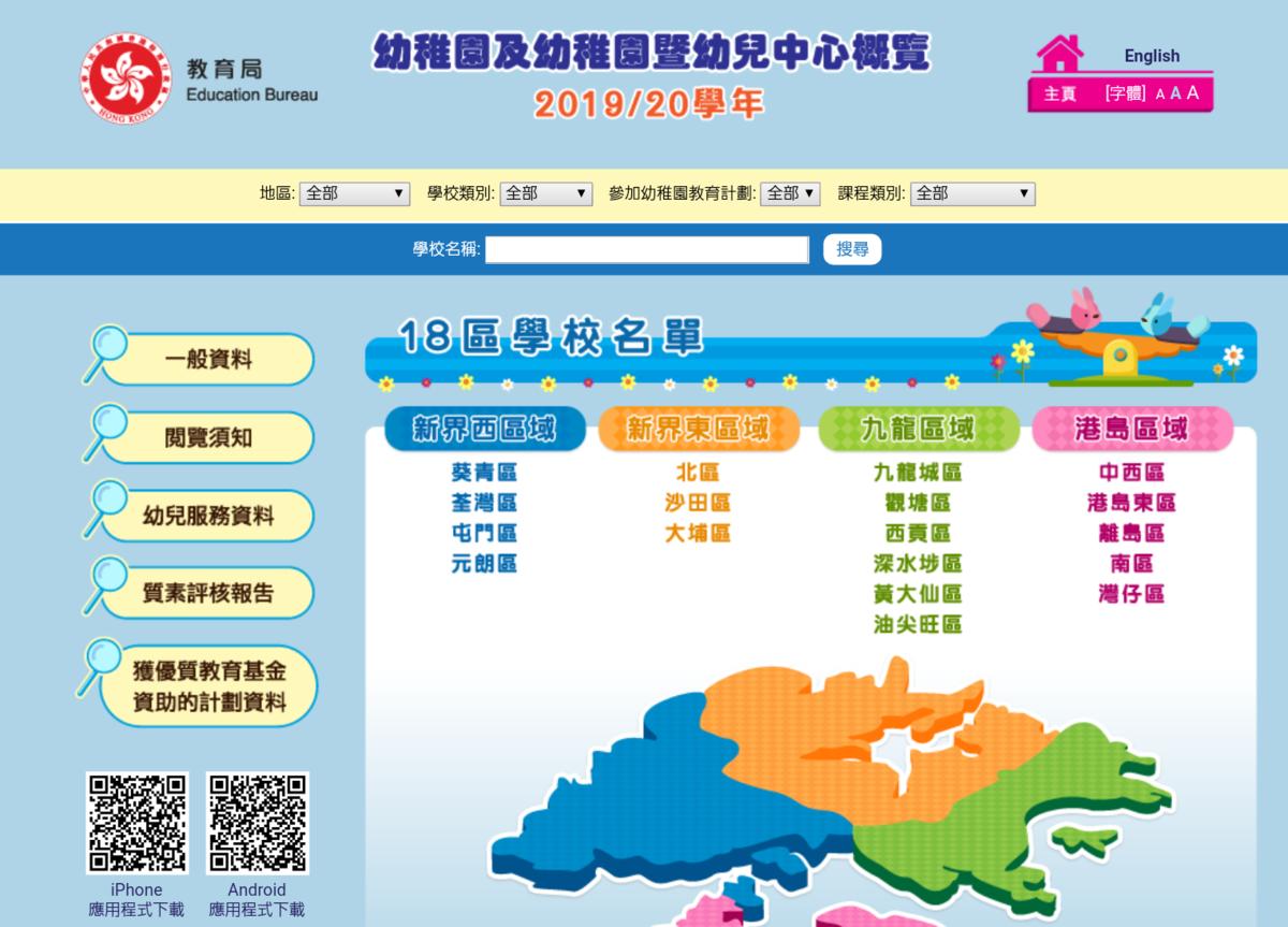 香港 幼稚園の探し方