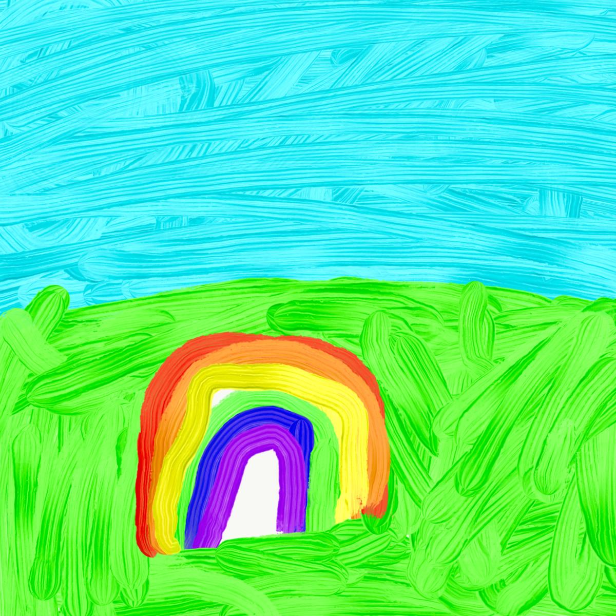 3歳 お絵かき