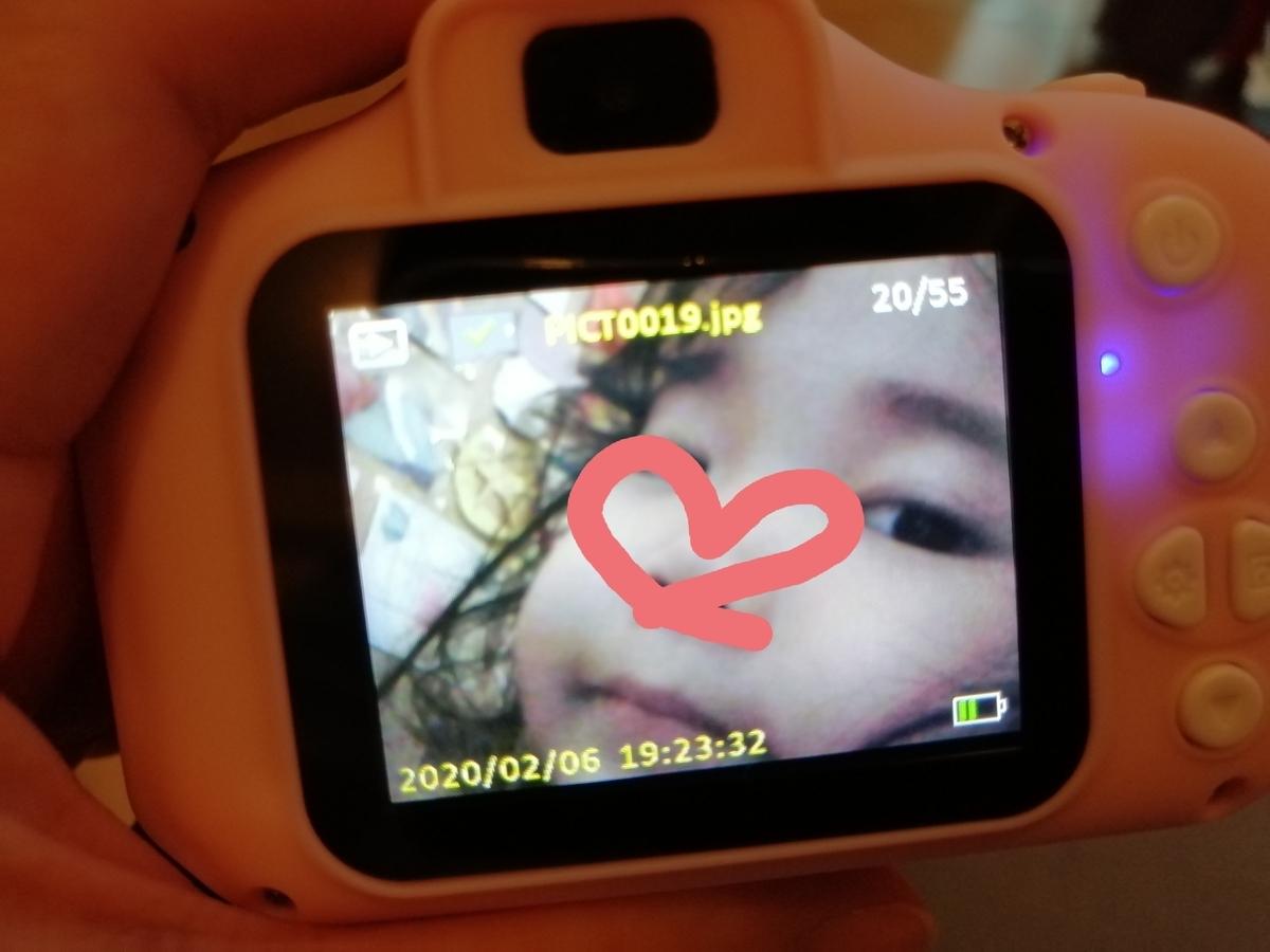 4歳 キッズカメラ