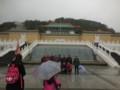 中国の人は記念撮影で傘をささない