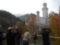 ノイシュバンシュテイン城の真下