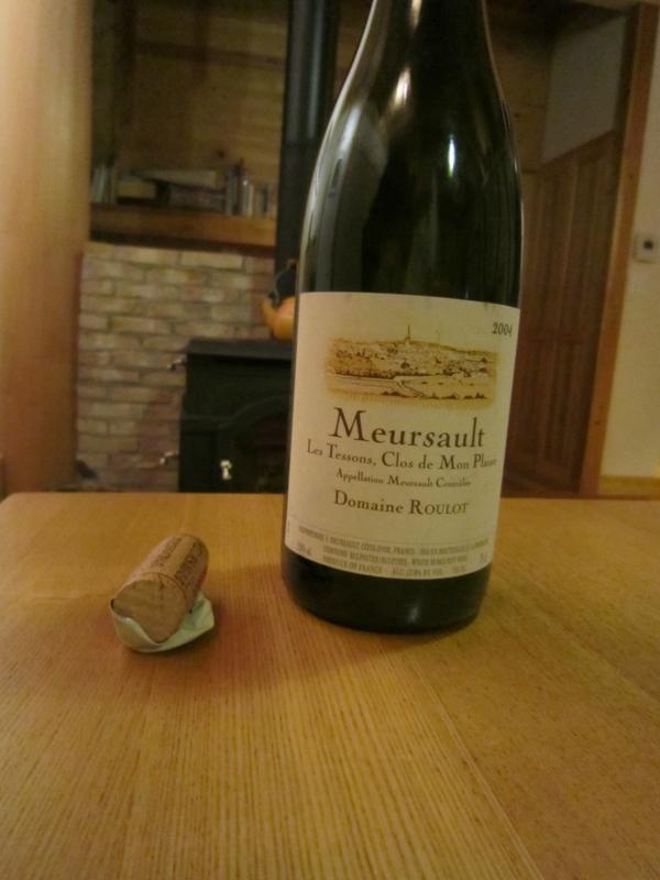 「Meursault Clos de Mon Plaisir 2004」(Domaine Roulot)