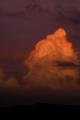 梅雨明けの雲