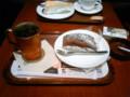 ケーキとコーヒー@上島珈琲店
