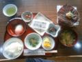 朝食@民宿かやぶき