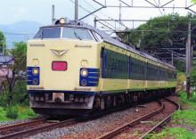 583系 あいづライナー 喜久田駅