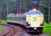 583系 青い森鉄道 千曳駅