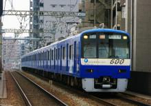 600形 ブルースカイトレイン 立会川駅