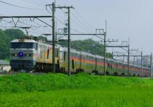 寝台特急 カシオペア EF510-500 東大宮 蓮田 ヒガハス