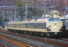 583系 秋田車 東海道線 大磯 二宮