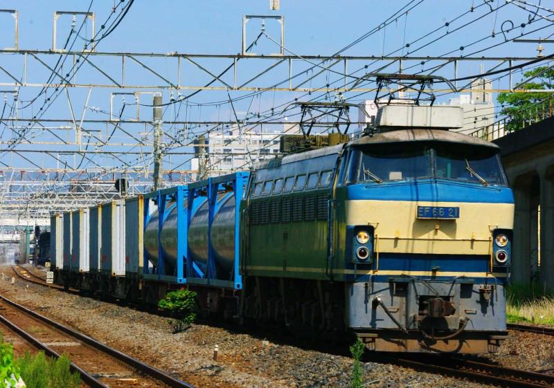 EF66 21号機 EF66-0 平塚 大磯 東海道線