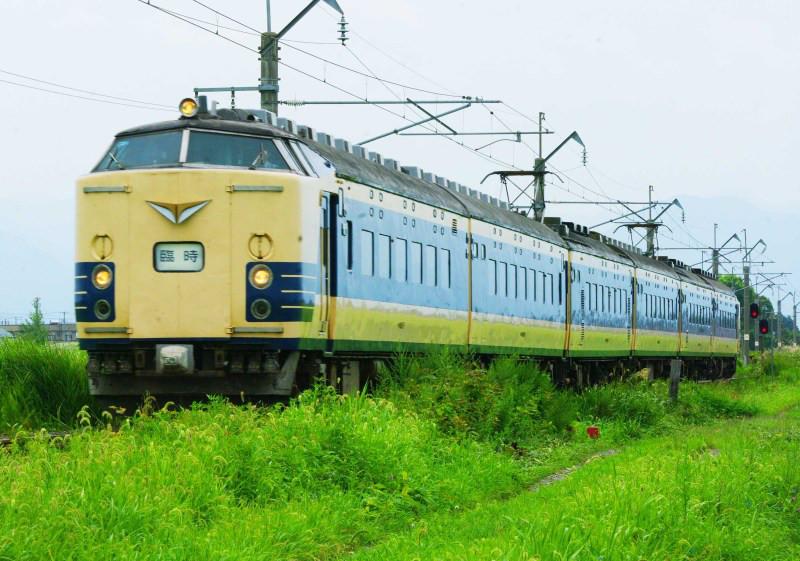 583系 奥羽本線 川部 北常盤 大曲花火臨時列車