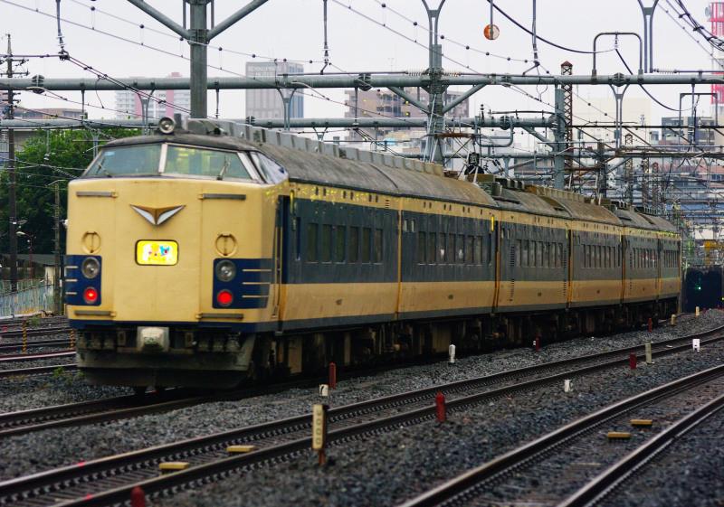 583系 わくわくドリーム号 与野 西浦和 武蔵野線 湘南新宿ライン 貨物線 シリウスの線路際のロマンを求めて