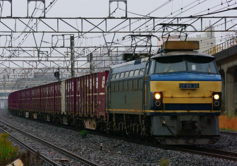 EF66-0 東海道線 平塚 大磯 相模貨物駅 ゼロロク 貨物列車 続・シリウスの線路際のロマンを求めて EF66-0 36号機